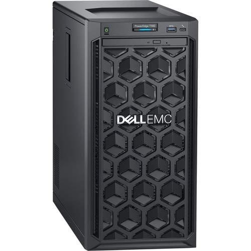 Dell EMC PowerEdge T140 Mini-Tower Server - 1 x Xeon E-2124-8 GB RAM - 1 TB (1 x 1 TB) HDD - 12Gb/s SAS, Serial ATA/600 Controller - 1 Processor Support - 64 GB RAM Support - Gigabit Ethernet - No -