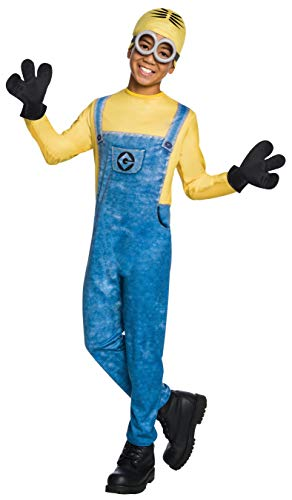 Easy Minion Costume (Rubie's Costume Despicable Me 3 Child's Dave Minion Costume, Multicolor,)