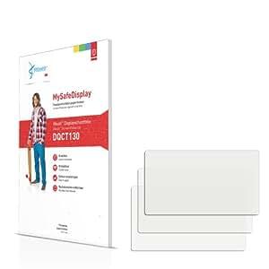 3x Vikuiti MySafeDisplay Protector de Pantalla DQCT130 de 3M para Paneles táctiles con 6.9 cm (2.7 Zoll) [58 x 33 mm]