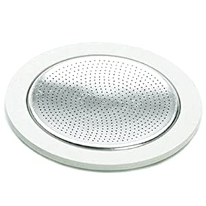 Amazon.com: Bialetti Replacement Gasket & Filter for 6 Cup Espresso Maker: Espresso Machine ...