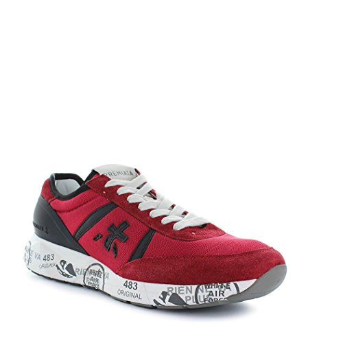 Premiata Dames Schoenen Sneaker Hanzo 2907 Rood / Zwart Lente-zomer 2018