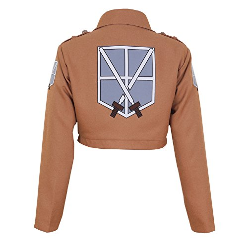 CG Costume Women's Attack on Titan Training Corps Jacket Cosplay Costume