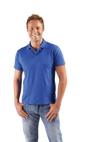 Men Polo Shirt Prescott - Farbe: Atoll Blue - Größe: S
