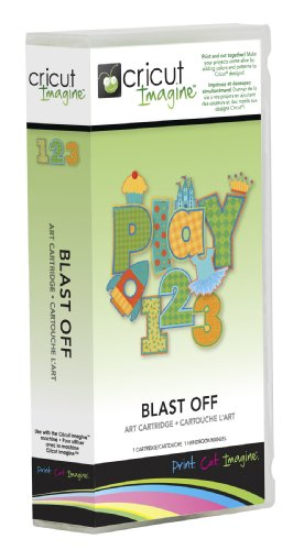 - Cricut Imagine Cartridge, Blast Off