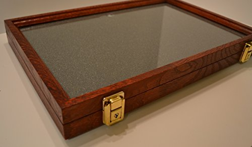 Buy pin display case cherry