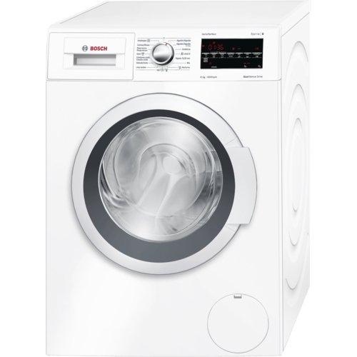 Bosch WAT28468ES Independiente Carga frontal 8kg 1400RPM A+++-30% Color blanco - Lavadora (Independiente, Carga frontal, A+++-30%, B, Color blanco, ...