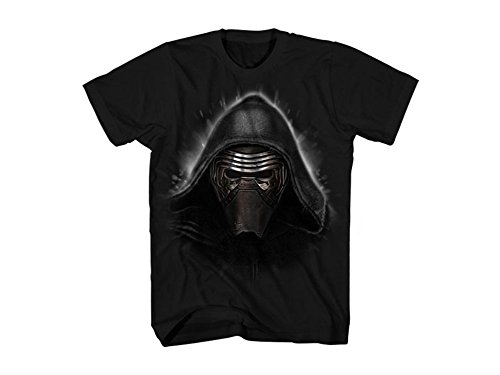 Star Wars Men's Evil Ren T-Shirt, Black, Large
