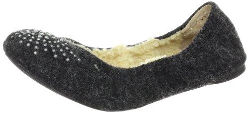 Mulheres Whitemountain Preto Adorável Apartamentos Suede Shoes Novo Eu 36.5