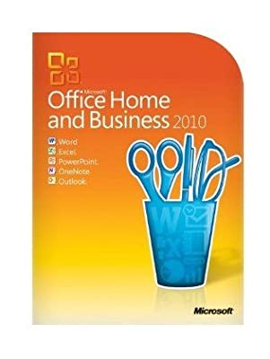 Microsoft Office Home & Business 2010 - 2pc/1user (One Desktop and One Portable)