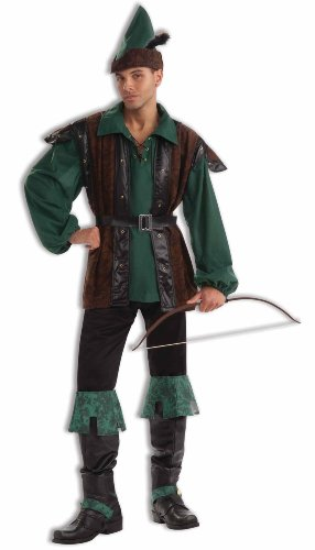 Forum Plus Size Fables and Fairy Tales Robin Hoodie, Green, X-Large Costume ()