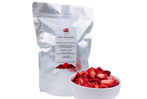 TALI® Erdbeeren gefriergetrocknet (Scheiben) 125 g