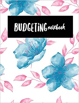 a66a2286e27a Budgeting Notebook: Floral Design Money Management With Calendar ...