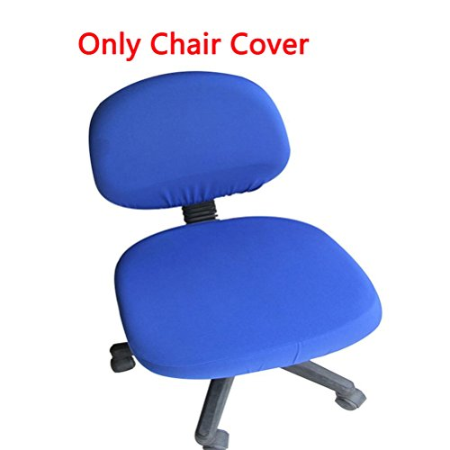 Trycooling Polyester Spandex Universal Stretch Rotating Pure Color Chair Cover (Royal Blue Recliner)