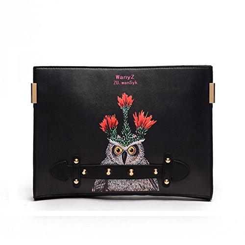 MAINLYCOR CHB880412C3 Explosion Models PU Leather Women's Handbag,Square Cross-Section Envelope - Shop London Fendi