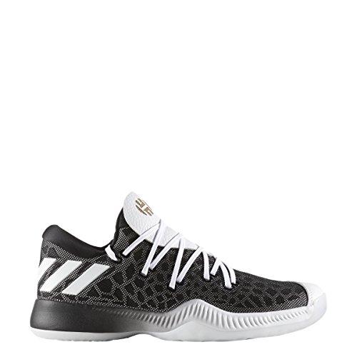 Adidas Hærde B / E Sko Mænds Basketball Kerne Sort-hvid 1dWjS