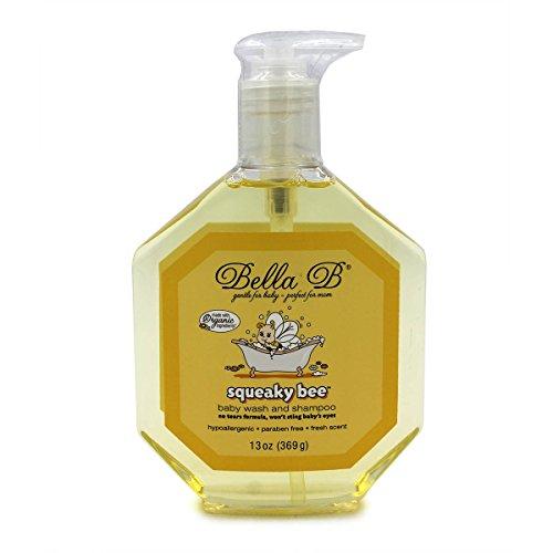 Bella B Squeaky Bee Baby Wash and Shampoo 13 oz 369 (Belli Hair Body Wash)