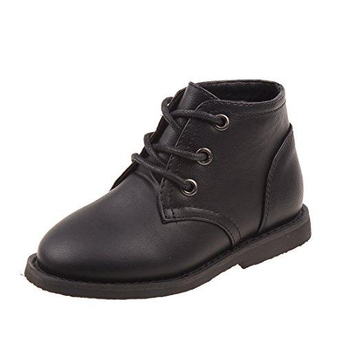 Joseph Allen Boys Desert Chukka Work Boot, Black Size 9' - 9' Classic Boots