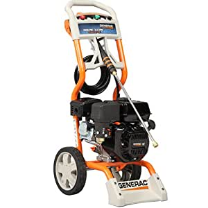 Generac 6020/5987 2,500 PSI 2.3 GPM 196cc OHV Gas Powered Residential Pressure Washer  (Older Model)