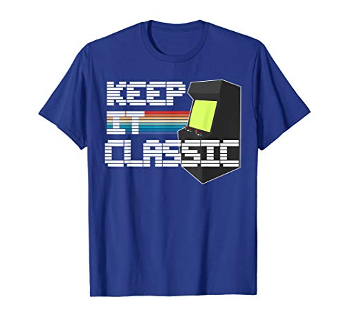 Keep It Classic Men's Vintage Gamer T-Shirt ()