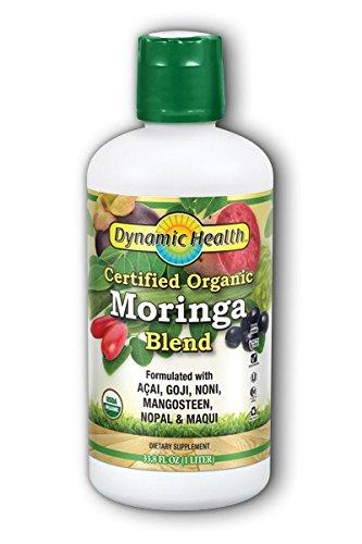 Dynamic Health Juice, Organic Moringa, 33.8 Fluid Ounce