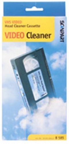 Scanpart universal VHS Video Reinigungskassette Kassette Reiniger Reinigung