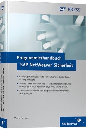 Programmierhandbuch SAP NetWeaver Sicherheit (SAP PRESS)