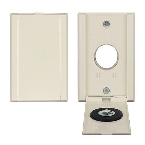 Universal VacuValve Full Door Inlet (Almond)