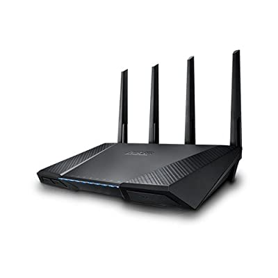 ASUS RT AC87U Wireless AC2400 Dual B& Gigabit Router, AiProtection with Trend Micro