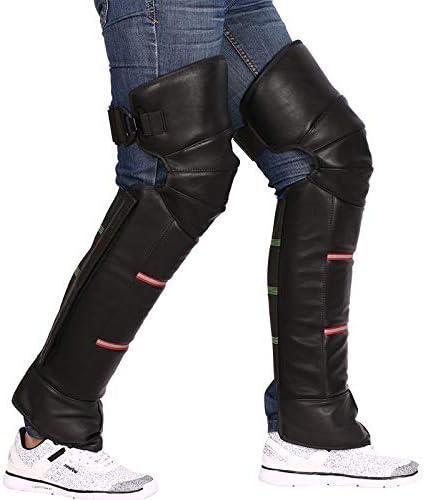 /équipement de moto en acier inoxydable Genouill/ères adultes
