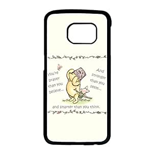 Samsung Galaxy S6 Edge Case Diy Cover Case With Winnie The Pooh Bear Plastic Casse