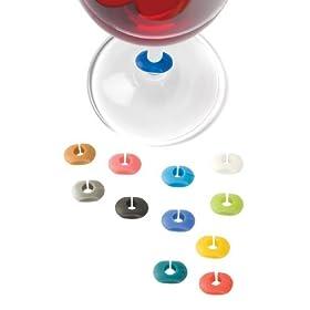 True 0709 Wine-O: Silicone Wine Charms