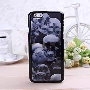 GJY3D Skull Pattern Plastic Hard Case for iPhone 6