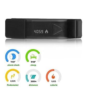 007plus T5 Smart Bracelet Bluetooth Fitness Tracker (Pink) 4