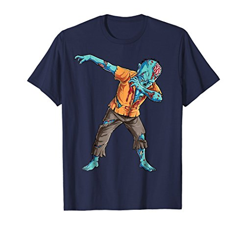 Dabbing Zombie T shirt Halloween Kids Funny Zombies Dab Tees for $<!--$12.87-->