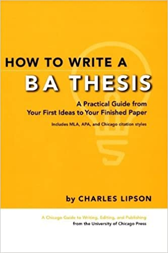 Amazon how to write a ba thesis a practical guide from your how to write a ba thesis a practical guide from your first ideas to your finished paper chicago guides to writing editing and publishing kindle edition fandeluxe Gallery