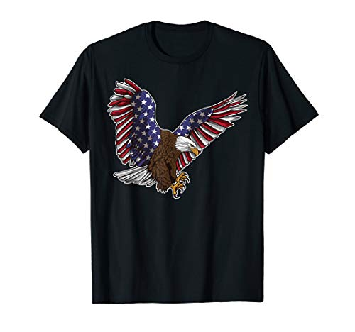 4th of July USA American Flag Eagle