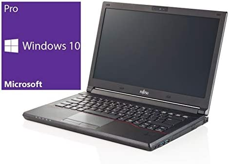 Fujitsu E544 Notebook | 14 pollici | Intel Core i3 – 4000 m @ 2,4 GHz | 4 GB DDR3 RAM | 128 GB SSD | senza unità | Windows 10 Pro preinstallato (certificata e General Rigenerato) (Ricondizionato)