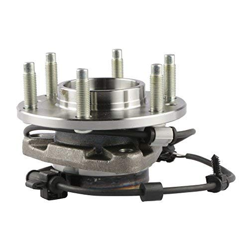 MOSTPLUS Wheel Bearing Hub Front Wheel Hub and Bearing Assembly 513188 for 2002-2009 GMC Chevy with ABS 6 Lug