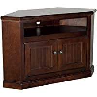 Eagle Coastal Corner Entertainment Console, 41, Chocolate Mousse Finish