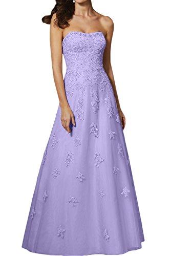 Rock La Lilac Partykleider a Spitze Abendkleider Marie Braut Navy Perlen Lang Ballkleider Linie Brautmutterkleider Blau qSgrOq4R