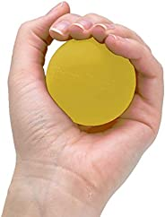 TheraBand Hand Exerciser, Stress Ball for Hand, Wrist, Finger, Forearm, Grip Strengthening & Therapy, Sque