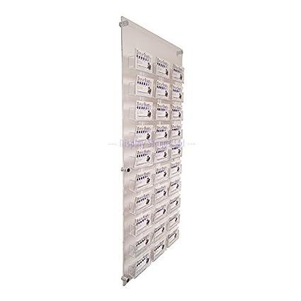 30bahía Panel de pared dispensador de tarjetas de visita (DS25/30C)