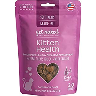 Get Naked 1 Pouch Kitten Health Soft Treats, 2.5 Oz