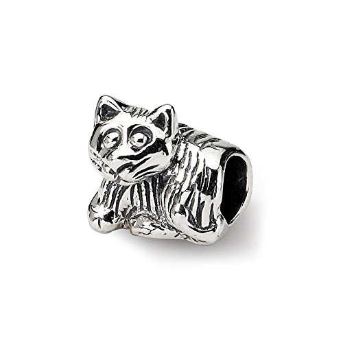 925 Sterling Silver Charm For Bracelet Kids Kitten Bead Kid Line Fine Jewelry Gifts For Women For Her