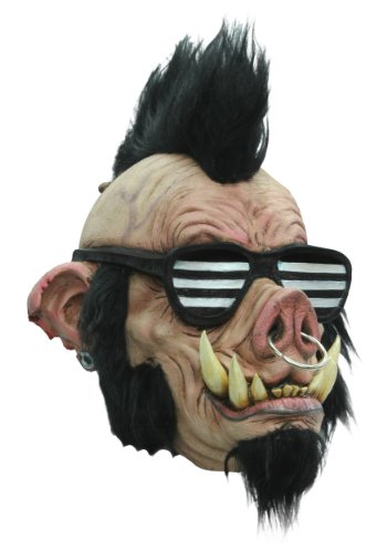 Ghoulish Costumes - Mask Head Boar Punk