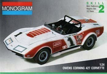 Monogram Owens Corning 427 Corvette 1:24 Model Kit