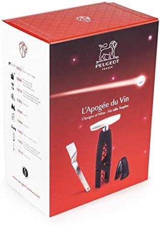 Peugeot 200732 L'Apogée du Vin Sacacorchos ALTAR, cortacápsulas y llave del vino