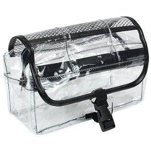 Kingsley Travel Cosmetic Bag Clear Vinyl Dopp Kit