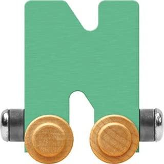 product image for Maple Landmark NameTrain Pastel Letter Car N - Made in USA (Green)