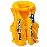 Inflatable Swim Vest Jacket for Kids Children Young Swimmers Deluxe Pool Float - 3 to 6 years